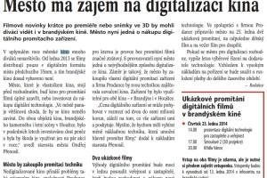 Město má zájem o digitalizaci